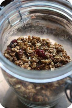 blissful domesticity- herbs and a granola recipe - 5 Orange Potatoes