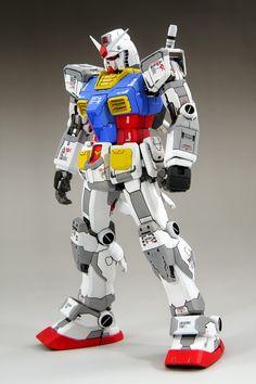 GUNDAM GUY: MG 1/100 RX-78-2 Gundam - Customized Build