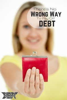 """Today I'm going to go over some of the basic """"why's"""" behind the different methods you can use to pay off #debt, as well as sharing the most important aspect of debt payoff.  http://www.debtroundup.com/no-wrong-way-pay-off-debt/"""
