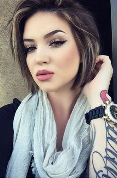 Cute Short Hairstyles for Round Faces 2016