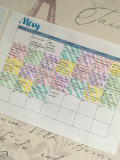 My revision timetable for English Trying to make it look pretty so I make myself more motivated to actually revise