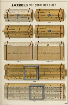 A.W. Faber, illustrated price list of lead and colored pencils, 1897. USA. Via Melissa Easton. The complete list online: University of Houston