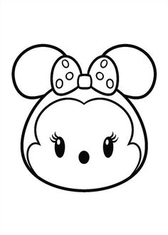 27 coloring pages of Tsum Tsum
