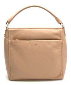 This Affogato Cobble Hill Curtis Leather Shoulder Bag is perfect! #zulilyfinds