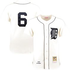 5e3fb4868a6 Al Kaline 1968 Detroit Tigers Mitchell   Ness Authentic Throwback Jersey -  Cream