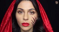 Halloween makeup: Little Red Riding Hood tutorial
