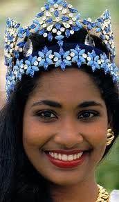Miss World 1993, Lisa Hanna from Jamaica
