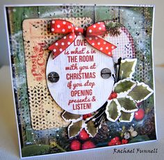 Card for Kaisercraft - Basecoat Christmas