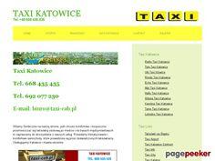 Taxi Katowice - Katalog Stron - Najmocniejszy Polski Seo Katalog - Netbe http://netbe.pl/miasta,regiony,i,panstwa/taxi,katowice,s,836/