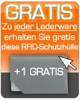 """""""Funk-Diebe"""" haben keine Chance mehr, wenn Sie Ihre Daten schützen.... RFID-Schutzhülle - Unsere Gratis-Prämie 1x für Sie zu jeder einzelnen Lederware-Pass-Sicherheit.de - Fachhändler für RFID-Schutzprodukte"""