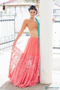 Photo of Bridal Wear - Varuna Jithesh via Wedmegood
