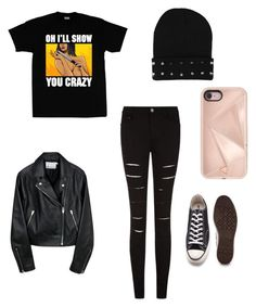 """""""Untitled #36"""" by brittney-mcclain on Polyvore featuring Converse and Rebecca Minkoff"""