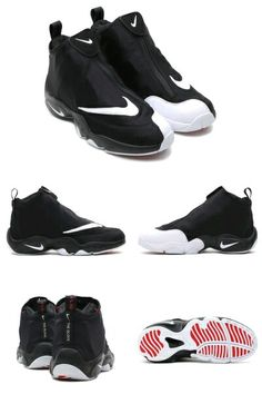 """43f5f1eb272 Nike Air Zoom Flight 98 """"The Glove"""" Black/White-University Red You know I  had to get this reissue, and in white as well, just to lay those demons to  rest :)"""
