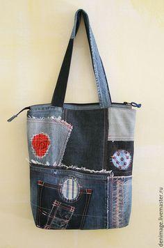 """Купить Джинсовая сумка """"Сицилия"""" - джинсовая сумка, джинсовый стиль, хиппи стиль, хиппи"""
