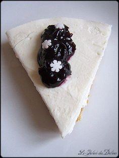 Express cherry Cheesecake de Nigella Lawson, le cheesecake sans cuisson à la confiture de cerises noires