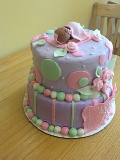 Baby Shower Cake from Sara's Sweets Bakery Grand Rapids MI