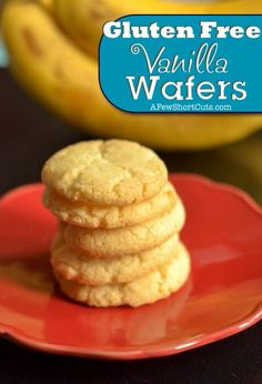 Enjoy your favs with this Gluten Free Vanilla Wafers #Recipe