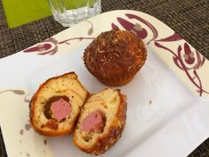 Virslis-füstölt sajtos muffin Muffin, Mini Cupcakes, Evo, Paleo, Main Dishes, Appetizers, Gluten Free, Cooking, Breakfast