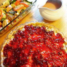 Edel's Mat & Vin : Kjøttpai med tyttebærlokk ✿ servert med ovnsbakte ...