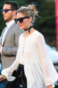Olivia Palermo is seen outside the Barbara Bui show at Grand Palais during Paris Fashion Week Spring Summer 2017 on September 29 2016 in Paris France Timeless Fashion, Love Fashion, Girl Fashion, Fashion Outfits, Paris Fashion, Olivia Palermo Lookbook, Olivia Palermo Style, Stil Inspiration, Business Outfit