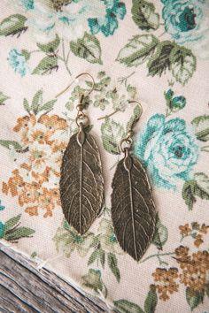Leaf Earrings | Large