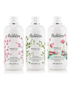 Take a look at this Field of Flowers Shower Gel Set by philosophy on @zulily today!