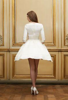 Delphine Manivet - Wedding dress designer Paris : Alexis