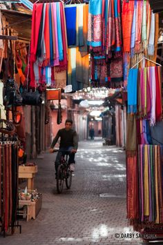 Souk in Marrakech, Morocco