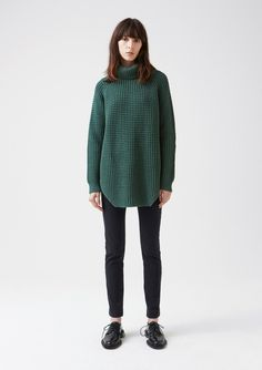 d600b68f51 Grand Sweater - Green - Knitwear  amp  Sweaters - Women s Collection - Hope  STHLM Winter