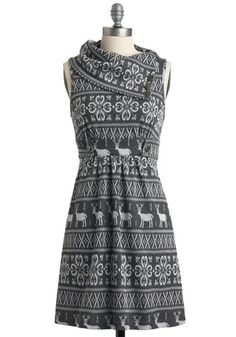 Coach Tour Dress in Alps from Modcloth