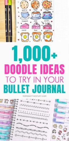 Doodle ideas to try in your bullet journal. Have fun decorating your bujo. Doodle ideas to try in your bullet journal. Have fun decorating your bujo (bullet journal) with these creative doodle ideas. Doodle Bullet Journal, Bullet Journal Tools, Bullet Journal Notebook, Bullet Journal Layout, Bullet Journal Ideas Pages, Bullet Journal Inspiration, Bullet Journals, Bullet Journal Health, Bullet Journal Decoration