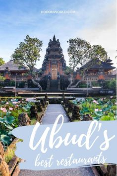 Wondering where to eat in Ubud, Bali? These 13 incredible Ubud Restaurants have it all - from fabulous food to beautiful settings to fantastic vibes! Best Places to Eat in Ubud | Ubud Restaurants Bali | Ubud Restaurants | Coolest Places to Eat in Ubud | Ubud Restaurants with a View | Instagrammable Cafe | Best Bars in Ubud | Fine Dining Ubud | Ubud Bali