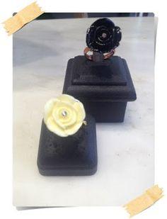 Το Μαγικό Μανιτάρι:   ανοιξιάτικα δαχτυλίδια από χαλκό ή μπρούτζο!