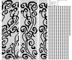 Схемы для вязания жгутов - Ярмарка Мастеров - ручная работа, handmade