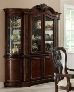 The Coaser Alexander Cabinet is crafted from select hardwoods, cherry and burl veneers. Description from tlbox.com. I searched for this on bing.com/images