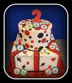 Casino Arizona 2nd Anniversary Cake by Sugar Buzz Cakes by Carol, via Flickr