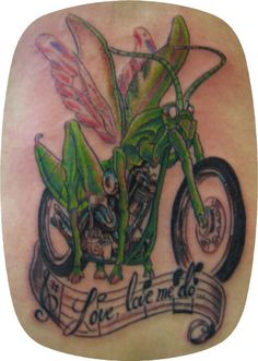 mototcylcle tattoos | Motorcycle Tattoo Gallery