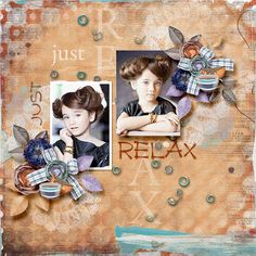 Just Relax, Cheer, Scrap, Graphics, Templates, Store, Frame, Blog, Decor
