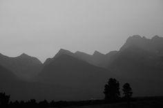 Cedar Peak, East of Polson Montana. August 2015
