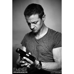 'Bourne Legacy' Producer Frank Marshall Says His Dream Is To Have... ❤ liked on Polyvore featuring jeremy renner