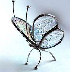 Purple Iridescent Tabletop Decor Stained Glass Butterfly, Glass Suncatcher, Home Decor, Home Accents Stained Glass Angel, Stained Glass Ornaments, Stained Glass Suncatchers, Stained Glass Designs, Stained Glass Projects, Stained Glass Patterns, Leaded Glass, Mosaic Glass, Fused Glass