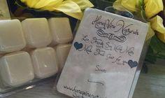 Apple Pie Tarts Soy Wax Clamshell Mabon Samhain by HoneyVineMagickals on Etsy