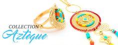 boutique créateur - bijoux garçons manqués - collection azteque