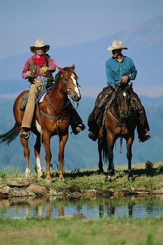 2 Cowboys by gwarrington, via Flickr