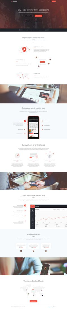 Wunderpass Landing Pages by Michał Ptaszyński for EL Passion