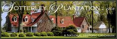 Historic Sotterley Plantation located in Southern Maryland about 60 miles south of Washington DC