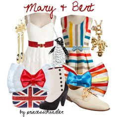 """Mary and Bert"" by princesschandler on Polyvore"