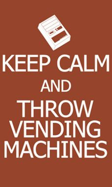 My heart XD When ever I see a vending machine I begin to freak out! And every one looks at me like I just died XD