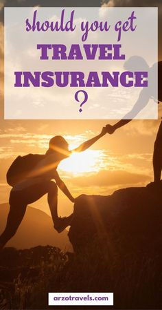 Do you travel? Then you need travel insurance - but before you buy all kind os insurance find out which one is the right one for you: find out why and what you can insure - from stolen items, to lost baggage, missed flights, health insurance and much more.