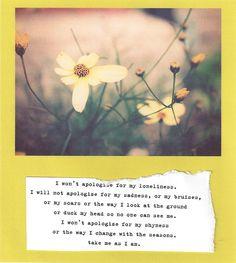 take me as i am by writingsforwinter